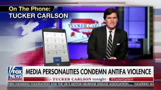Tucker discusses protesters outside his house
