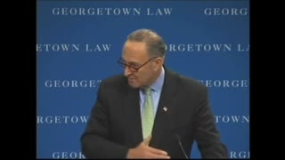 Video of Schumer From 2009 On Immigration