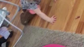 Clumsy Toddler In Ugg's