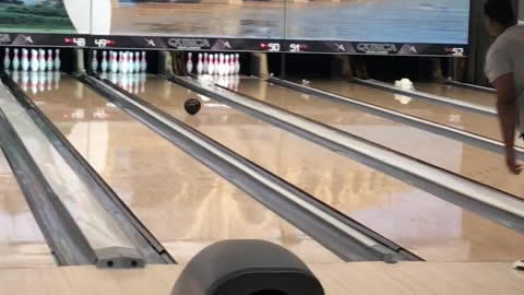 So Close to Bowling a Perfect Game