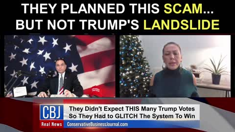 They Planned This Scam... But NOT Trump's Landslide Victory!