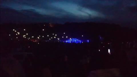 "Dancing fountains on Midsummer's fest (Andrea Bocelli ""Time say goodbye"")"