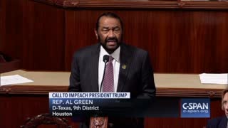 Rep. Al Green Impeachment Resolution Against President Trump