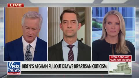 Sen Tom Cotton Weighs In On Afghanistan Withdrawal