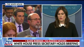 Report Said Trump's Bank Was Being Subpoenaed — Sarah Sanders Just Threw Big Wrench Into That News - Video