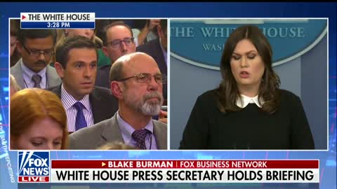 Report Said Trump's Bank Was Being Subpoenaed — Sarah Sanders Just Threw Big Wrench Into That News