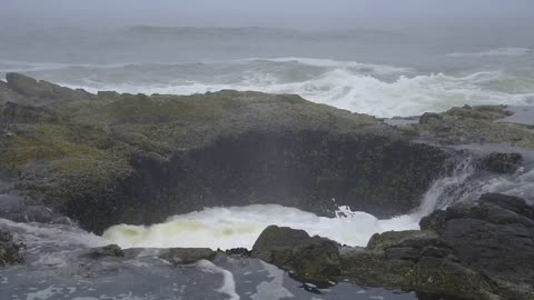 Capturing the Wild Surf at Thor's Well
