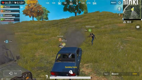 Gang Fight Between Two Cars In Pubg