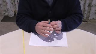 A Pencil Disappears And Is Replaced By Other Matter - Video