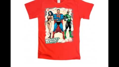 Justice League Trio Ready to Action T Shirts
