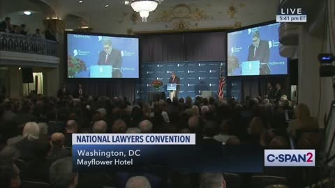 AG Barr Explains The Difference Between Conservatives And Liberals
