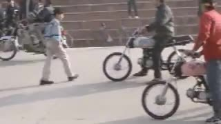 bike wheeling in pakistan  - Video