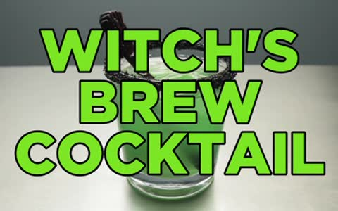 How To Make A Vodka Halloween Cocktail - Witch's Brew