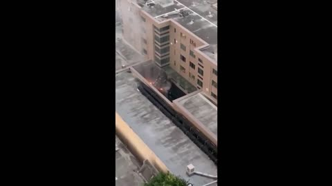 LEAKED VIDEO: Chinese Consul Burning Documents After Being Ordered To Close Houston Location