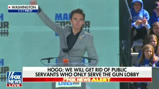 David Hogg at March For Our Lives: 'Let's Put the USA Over the NRA' - Video