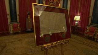 The Magna Carta gets a royal inspection - Video