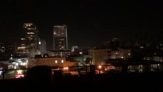 New Years Fireworks over Korea Town (Los Angeles) Pt. 1