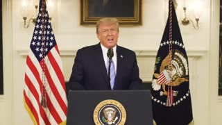 President Donald J Trump's concession speech