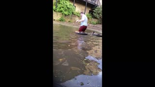 Epic Hilarious Bike River Fail May 2016 - Video