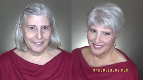 She Takes Years Off With A MAKEOVERGUY® Makeover