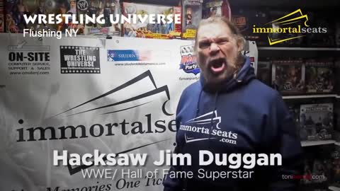 Immortal Seats Athletes & Entertainers Promo Ad