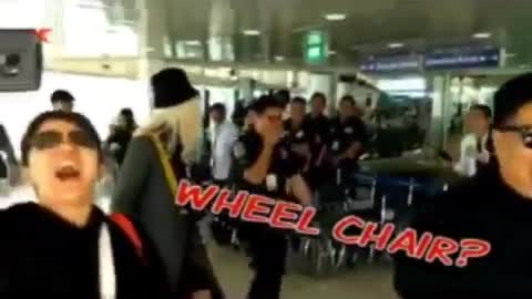 Vice Ganda Wheel Chair