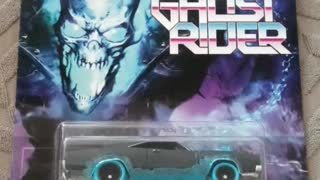 Opening ghostrider dodge charger hot wheels