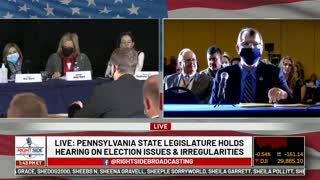 PA Election Fraud Hearing Nov. 25th, 2020