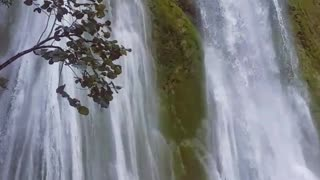 Guy Jumps into Waterfall - Video