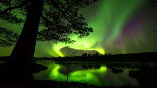 Secuencia capta la magnificencia de la Aurora Boreal - Video