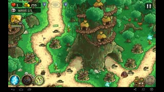 "Kingdom Rush: Origins Walkthrough. Level 4 ""Redwood Stand"" Iron Challenge Veteran Mode - Video"