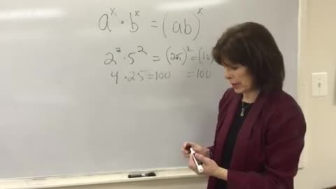Exponent Rule for Combining Exponents with Different Bases