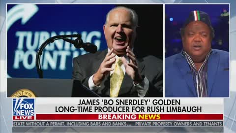 James 'Bo Snerdley' Golden Delivers Tearful Tribute To Rush Limbaugh