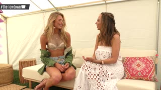 Victoria's Secret Angels Martha Hunt & Romee Strijd Coachella 2017 Interview - The LowDown - Video