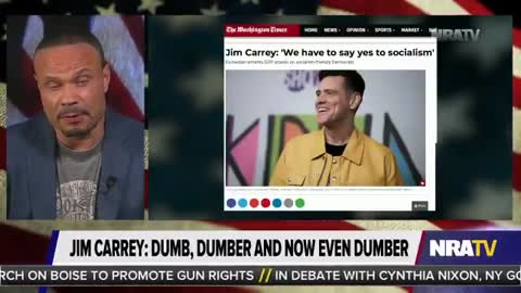 """Bongino: No, Jim Carrey, """"Socialism"""" Is Not the Same Thing as """"Socialized"""""""