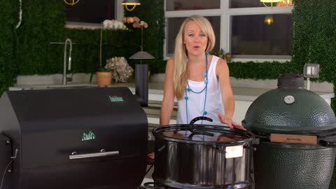 All About Pellet Smokers, Kamado Grills, Pit Barrel Smoker | Grill Girl | Wide Open Eats