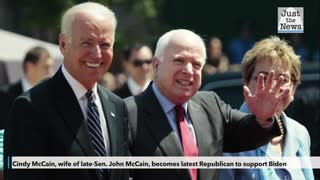 Cindy McCain, wife of late-Sen. John McCain, becomes latest Republican to support Biden