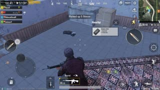 Stricking As One Hand In Zombie Land Pubg