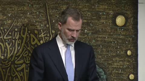This Wednesday evening, the King of Spain Felipe VI