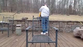 AR-15 Owner Saws Rifle To Show Support For Gun Control - Video