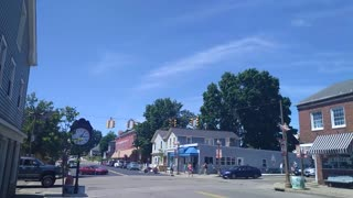 Downtown Canal Fulton Ohio June 2020