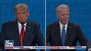 "Trump reminds biden "" who built the cages"""