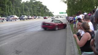 Three Mustang Show Crash Videos