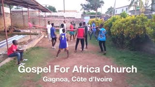 Jesus Is Saving Young Men and Women in Gagnoa, Côte dIvoire.