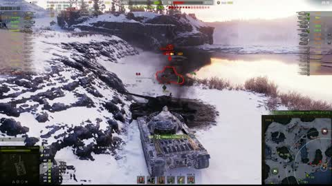 The best fight according to the world of tanks
