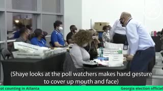 Fullton County Election Fraud - CAUGHT ON VIDEO!