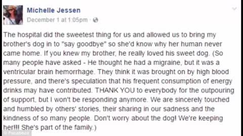 Dog Visiting Dying Owner One Last Time in Hospital |