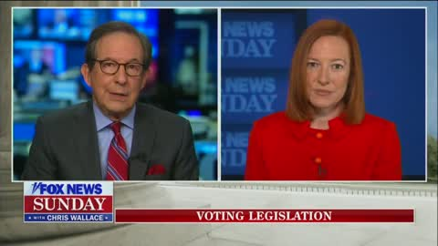 Chris Wallace Grills Psaki On Democrats' Filibuster Policy Shift