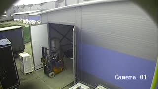 Forklift Fail - Video