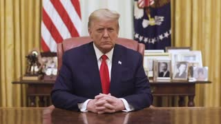 A message from president Trump after 2nd impeachment passes house
